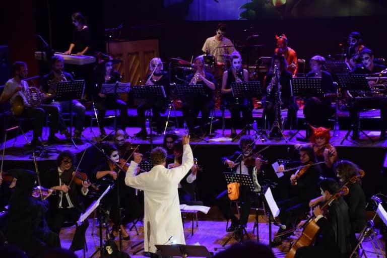Steve Journe and monster orchestra comp