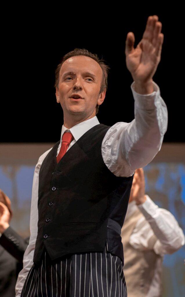 Fabrice Maitre sur scène